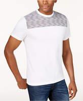 Alfani Men's Pattern-Blocked T-Shirt, Created for Macy's