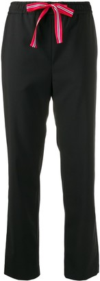Paul Smith Drawstring Waist Tapered Trousers