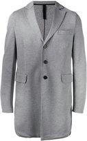 Harris Wharf London - single-breasted coat - men - Cotton - 48