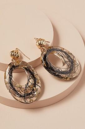 Llani Sabine Thread Resin Earrings
