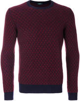 Zanone contrast colour sweater