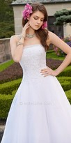 Camille La Vie Beaded A-Line Wedding Dress