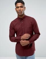 Jack Wills Oxford Shirt In Regular Fit In Damson