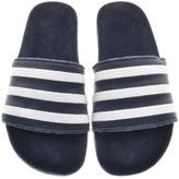 adidas Adilette Velvet Flip Flops Blue