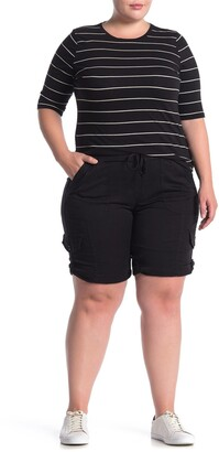SUPPLIES BY UNION BAY Betsey Comfort Waist Stretch Twill Shorts