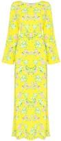 MONICA Bernadette floral print maxi dress