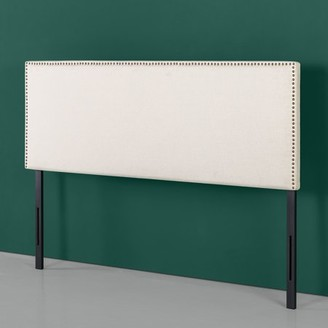 Zinus Jake Upholstered Nailhead Trim Headboard, Multiple Sizes and Colors