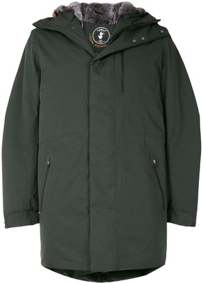 Save The Duck Stone Synthetic Down And Fur Rain Parka