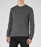 Reiss Lodger Quilted Sweatshirt