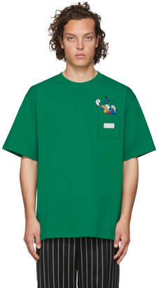 GCDS Green Donald Duck Pocket T-Shirt