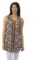 Jendi Geometric Print Dress