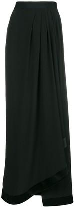 Unravel Project Side Slit Flared Skirt