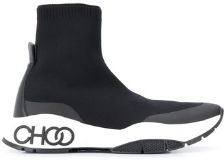 Jimmy Choo Raine Sock high-top sneakers