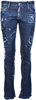DSQUARED2 Sexy Bootcut Bleached Jeans