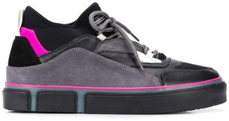 Marcelo Burlon County of Milan Vulcanized panelled sneakers