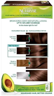 Garnier Nutrisse Permanent Hair Dye (Various Shades) - 1 Black