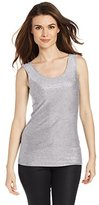 Only Hearts Women's Metallic Jersey Low-Back Tank