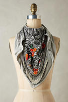 Mary Frances Beaded Florals Scarf