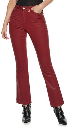 Nine West Women's Delancy High-Rise Kick Flare Jeans