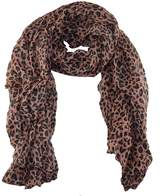 SW Leopard Animal Print Scarf
