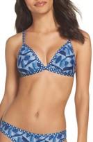 Lucky Brand Women's Nomad Reversible Bikini Top