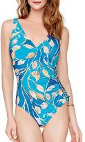 Gottex Capri Surplice One-Piece Swimsuit