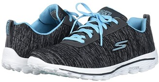 Skechers Go Golf GO GOLF Go Walk Sport (Black/Blue) Women's Golf Shoes