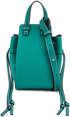 Loewe Hammock DW Mini Bag in Emerald Green | FWRD
