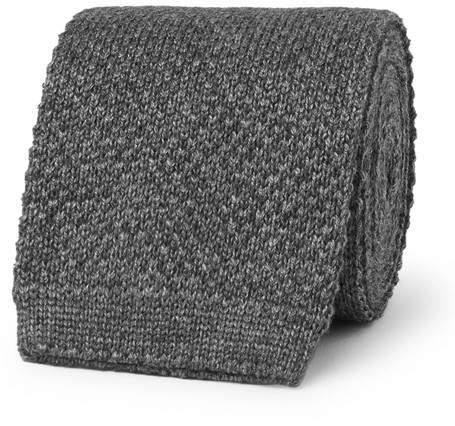 Loro Piana 6cm Knitted Cashmere And Silk-Blend Tie