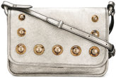 Tomas Maier studded crossbody bag - women - Leather/Metal (Other)/Amber - One Size