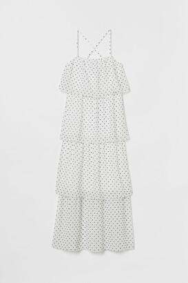 H&M Tiered Maxi Dress