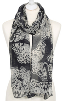 George Butterfly Print Scarf