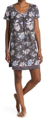 Ellen Tracy Short Sleeve Nightgown