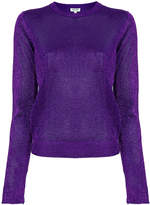 Kenzo glitter knit top