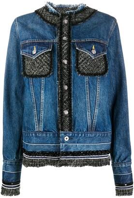 Junya Watanabe Raw Edge Denim Jacket