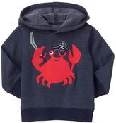 Gymboree Crab Pirate Hoodie