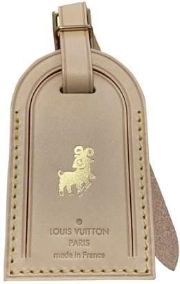 Louis Vuitton Beige Leather Purses, wallets & cases
