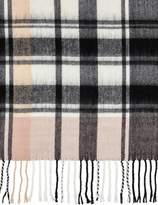 Miss Selfridge Pink checked scarf