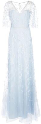 Marchesa glitter tulle gown