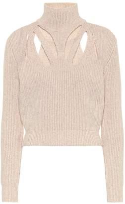 Fendi Wool and cashmere turtleneck sweater