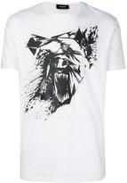 DSQUARED2 abstract bear print T-shirt
