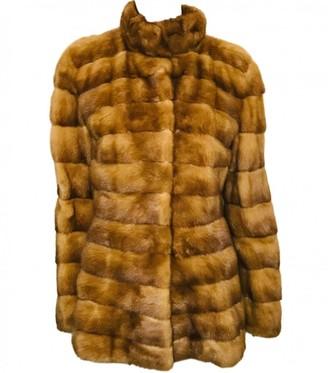 Dennis Basso Brown Mink Coat for Women