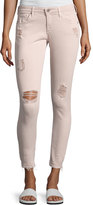 AG Jeans Farrah Skinny Ankle Interstellar Worn Sandalwood Jeans, Khaki