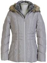 Nautica Faux Fur Hood Coat
