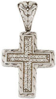John Hardy Diamond Cross Pendant