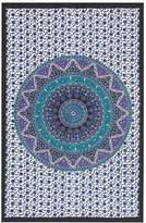 Pottery Barn Teen Printed Tapestries, Navy/Purple, 80x90