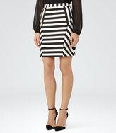 Reiss Karis Striped Pencil Skirt