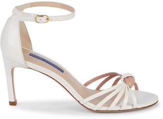 Stuart Weitzman Sena Strappy Leather d'Orsay Sandals