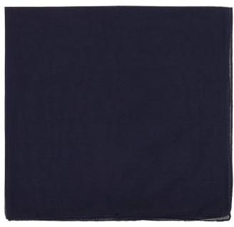 Lisa Corti - Set Of 12 Cotton-gauze Napkins - Blue