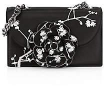Oscar de la Renta Women's Tro Embroidered Satin Crossbody Bag